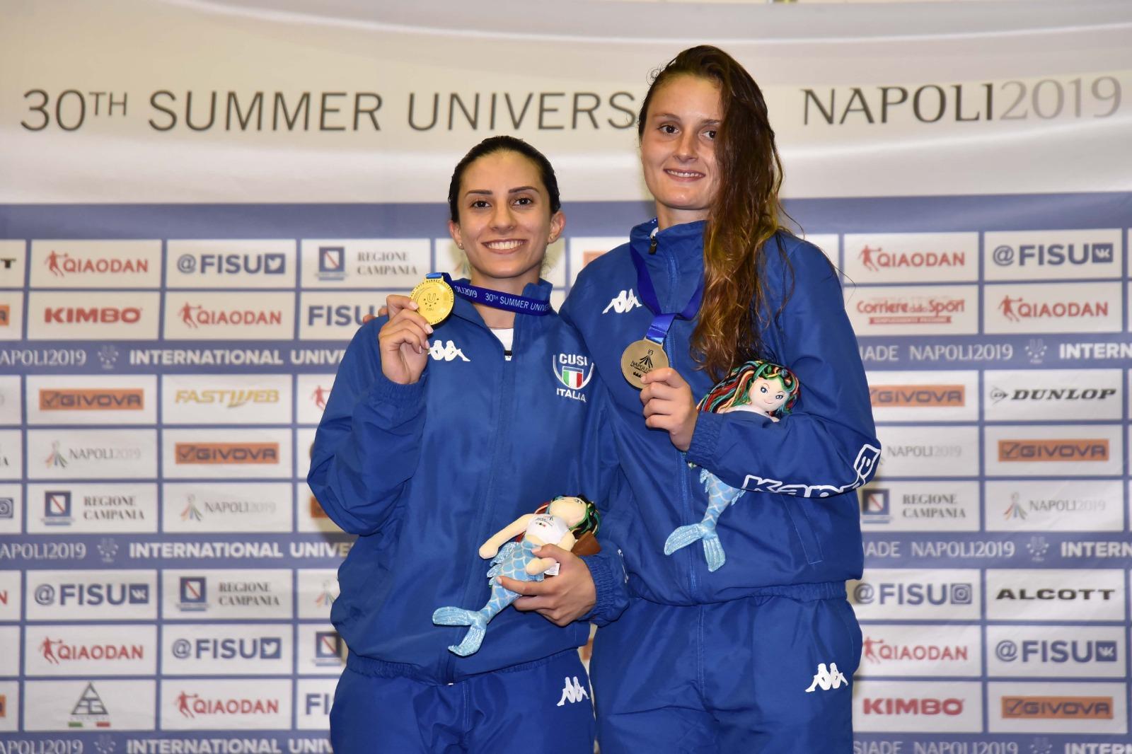 dc20809db6a9 Universiadi Napoli 2019: per l'Italia un successo, è sesta nel medagliere  con 44 medaglie (15 ori, 13 argenti e 16 bronzi)